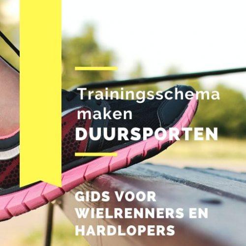 E-book trainingsschema maken